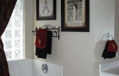 Paris Bathroom Decorating Ideas Awesome Exactly What I Want For Master Bath Black And White Paris