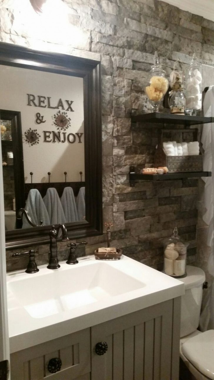 Rustic Bathroom Decor Ideas 2021
