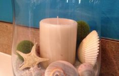 Seashell Decorations For Bathroom Inspirational Seashore Bathroom Decorating Ideas 3