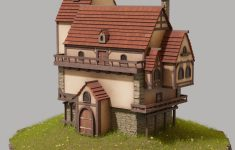 Simple Model House Picture Best Of Simple Fantasy House Finished Projects Blender Artists