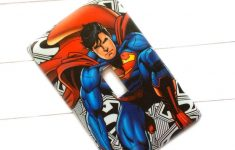 Superman Bathroom Decor Inspirational Superman Light Switch Cover Superhero Outlet Covers Nursery Bathroom Playroom Switch Plate Covers
