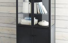 Tall Black Cabinet With Doors Lovely Casement Tall Black Cabinet Reviews