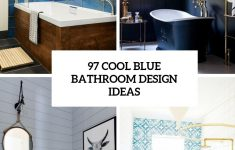 Turquoise Bathroom Decorating Ideas Unique 97 Cool Blue Bathroom Design Ideas Digsdigs