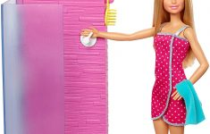 Barbie Bathroom Decor Best Of Barbie Fxg51 Doll And Furniture Set Bathroom With Working Shower