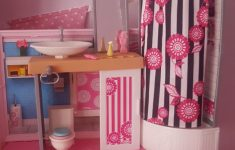 Barbie Bathroom Decor Best Of Barbie House With Accessories