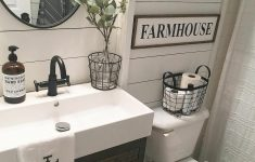 Bathroom Decor Design Ideas Awesome 60 Stunning Farmhouse Bathroom Decor And Design Ideas