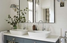 Bathroom Vanity Decorating Ideas Fresh 45 Stunning Farmhouse Bathroom Vanity Decorating Ideas