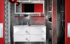 Black White And Red Bathroom Decorating Ideas Unique Black White And Gold Bathroom Set Decorations Style Modern
