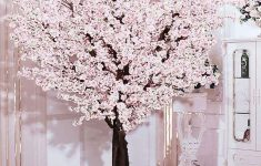 Cherry Blossom Bathroom Decor Beautiful J Beauty White Artificial Cherry Blossom Tree Artificial Plant For Wedding Event Indoor Outdoor Party Restaurant Mall Silk Flower 6ft T
