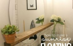 Decorate Bathroom Mirror Beautiful Give An Inexpensive Basic Round Mirror A Modern Update With