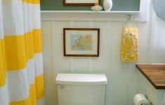 Decorating Small Bathrooms On A Budget Beautiful Small Bathroom Makeover