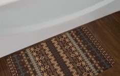 Decorative Bathroom Rugs Inspirational Traditional African Bath Rug