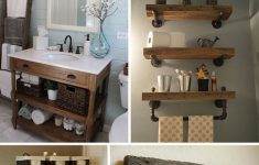 Diy Bathroom Decorating Unique 31 Gorgeous Rustic Bathroom Decor Ideas to Try at Home