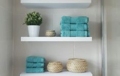 How To Decorate Bathroom Shelves Elegant Bathroom Shelving Ideas Over Toilet Diy Decorations