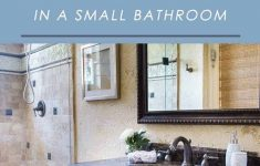 How To Decorate Bathrooms Elegant How To Make A Big Impact In A Small Bathroom Mhm