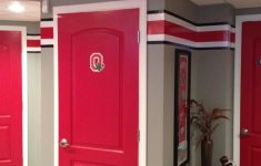 Ohio State Bathroom Decor Fresh Love The Red Doors Could They Be Painted To Look Like A