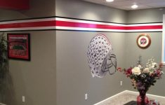 Ohio State Bathroom Decor Unique Buckeyes Man Cave The Front Row
