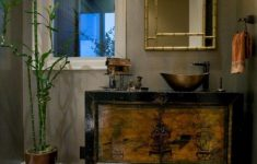 Oriental Bathroom Decor Lovely Bamboo Style Bathroom Thebestwoodfurniture
