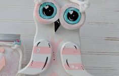 Owl Decor For Bathroom Best Of Unique Wooden Owl Pink Owl Home Decor Bathroom Set Pretty Desk Decor Ready To Ship Apronstringsowllady