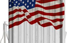 Patriotic Bathroom Decor Lovely Amazon Patriotic American Flag Shower Curtains