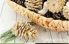 Pine Cone Bathroom Decor New How To Make Beautifully Bleached Pinecones Sand And Sisal