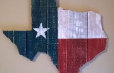Texas Flag Bathroom Decor Unique Texas State Flag Wall Hanging Made From Reclaimed Pallet