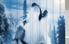 Wolf Bathroom Decor Inspirational Bathroom Decor Snow Wolf Mouldproof Shower Curtain