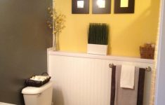 Yellow And Grey Bathroom Decorating Ideas Best Of 40 Perfect Gray Half Bathroom Decorating Ideas A Bud