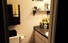 "Yellow And Grey Bathroom Decorating Ideas Unique Yellow Grey And Black ""you Are My Sunshine"" Theme Bathroom"