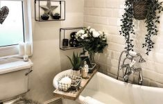 Bathroom Shelves Decorating Ideas New 📌43 Awesome Bathroom Shelves Decorating Ideas 40