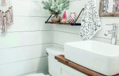 Cheap Ways To Decorate A Bathroom Unique Ways To Decorate A Shiplap In Bathroom Around Tub Made Easy