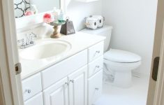 Decorating Guest Bathroom Beautiful Guest Bathroom Makeover The Rustic Boxwood