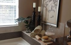 Decorating Ideas For Master Bathrooms Best Of Master Bathroom Decor Around Tub With Images