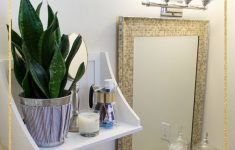 Decorating Ideas For Small Bathrooms In Apartments Luxury Small Rental Bathroom Makeover Ideas Not A Passing Fancy