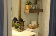 Decorating Small Bathrooms Pinterest Lovely Modern Farmhouse Inspired Bathroom Makeover E Room E