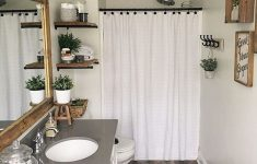 Decoration Ideas For Small Bathrooms Lovely 30 Popular Farmhouse Small Bathroom Decorating Ideas