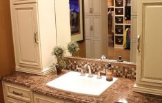 Decorative Bathroom Cabinets Awesome Bathroom Bathroom Linen Cabinets With Wastafel And Granite