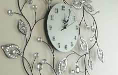 Decorative Bathroom Wall Clocks Beautiful Extraordinary Wall Clock Decorative For Home Design From