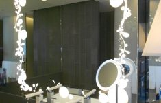 Decorative Mirrors For Bathroom Vanity Beautiful The Wall Mounted Makeup Mirror With Lights For A Perfectly