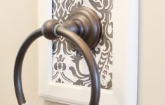 Decorative towel Bars for Bathrooms New Thrifty and Chic Diy Projects and Home Decor