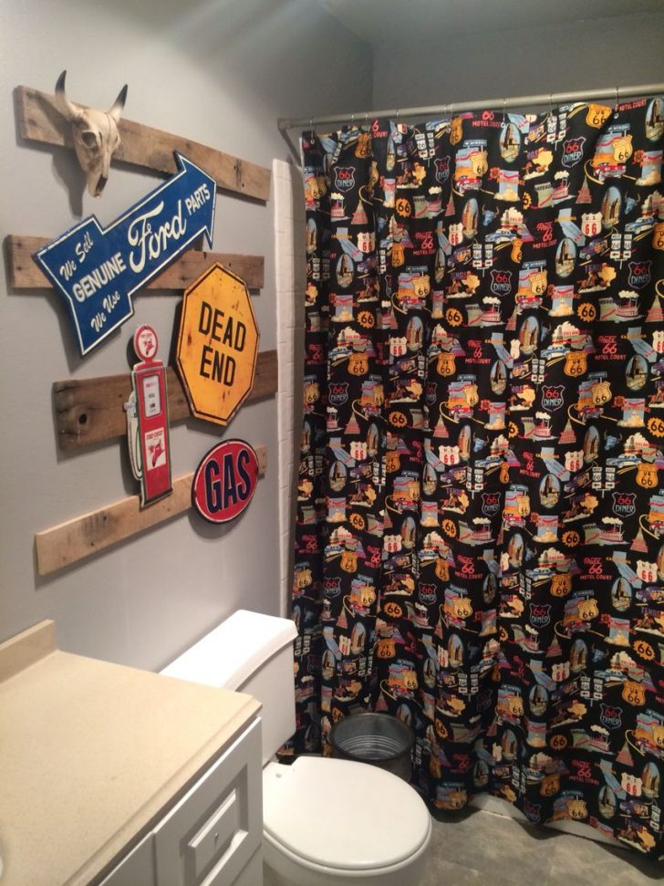 Man Cave Bathroom Decor 2021