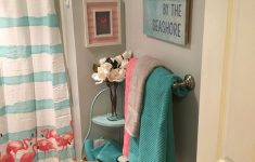 Pink Flamingo Bathroom Decor Fresh Bathroom Remodel Flamingos Pink Aqua Blue And Gray