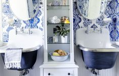 Toile Bathroom Decor Fresh 25 Bathroom Wallpaper Ideas Best Wallpaper for Bathrooms