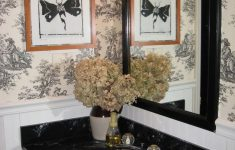 Toile Bathroom Decor Fresh Design Dilemma Toile