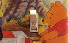Winnie The Pooh Bathroom Decor New Winnie The Pooh With His Hunny Honey Pot Light Switch Cover Dorm Nursery Bedroom Preschool Day Care Bathroom Kitchen Free Us Shipping