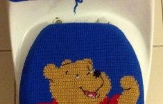 Winnie The Pooh Bathroom Decor Unique Crochet Winnie The Pooh Toilet Seat And Tank Cover By
