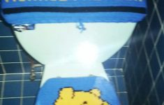 Winnie The Pooh Bathroom Decor Unique Crochet Winnie The Pooh Toilet Seat Cover Tank Top Cover And