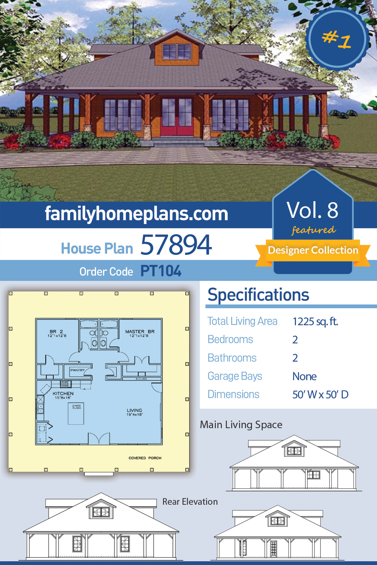 1000 Sq Ft House Construction Cost Luxury southern Style House Plan with 2 Bed 2 Bath