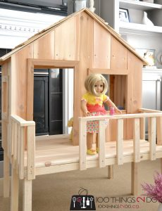 18 Inch Doll House Plans Awesome American Girl Treehouse