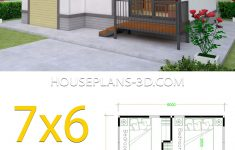 2 Bedroom House Designs Pictures Unique Small House Plans 7x6 With 2 Bedrooms